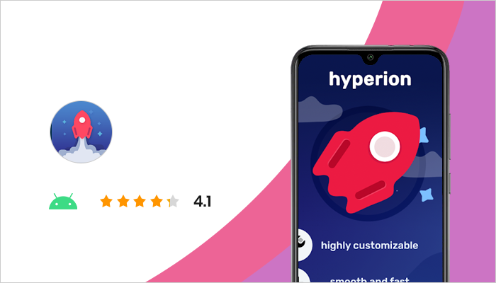 Hyperion Launcher - Best Android Launchers