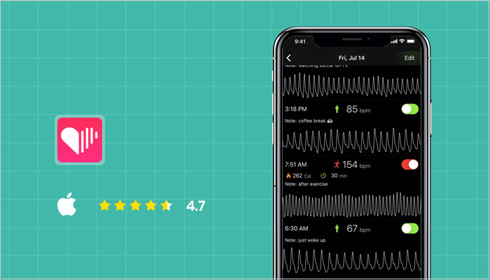 Cardiio - Best Heart Rate Monitor Apps