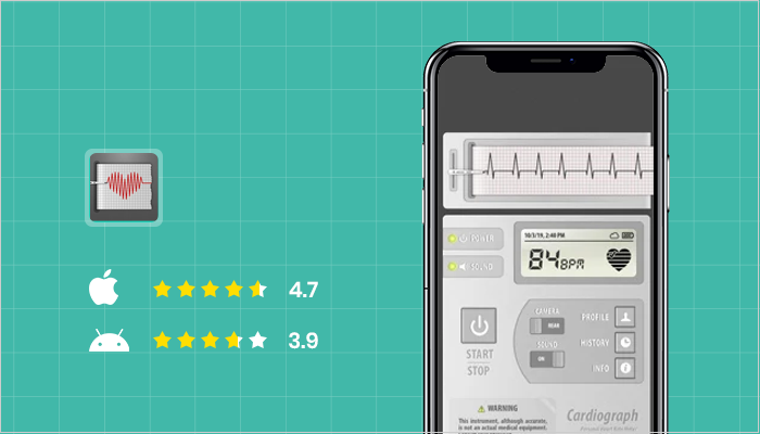 Cardiograph Classic - Best Heart Rate Monitor Apps
