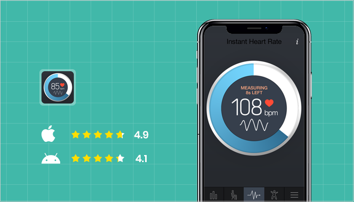 Instant Heart Rate - Best Heart Rate Monitor Apps