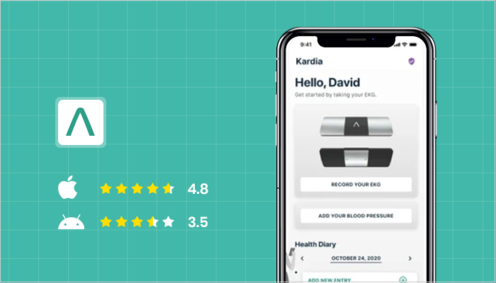Kardia - Best Heart Rate Monitor Apps