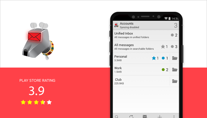 K-9 Mail - Best Email App for Android