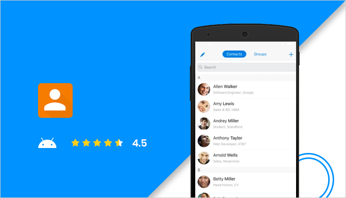 Simple Contacts Pro - Best Dialer App For Android