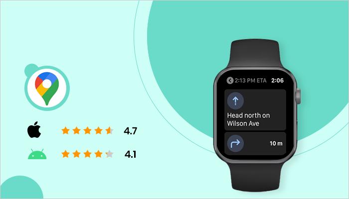 Google Maps - Best App For Smartwatch