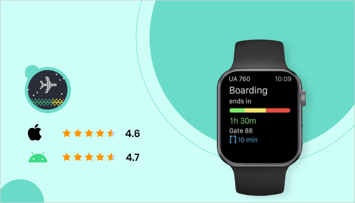 App In The Air - Best App For Smartwatch