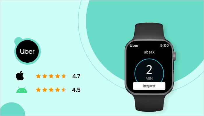 Uber - Best App For Smartwatch