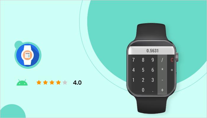 Calculator - Best App For Smartwatch