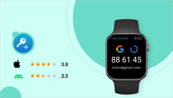 Authenticator Plus - Best App For Smartwatch