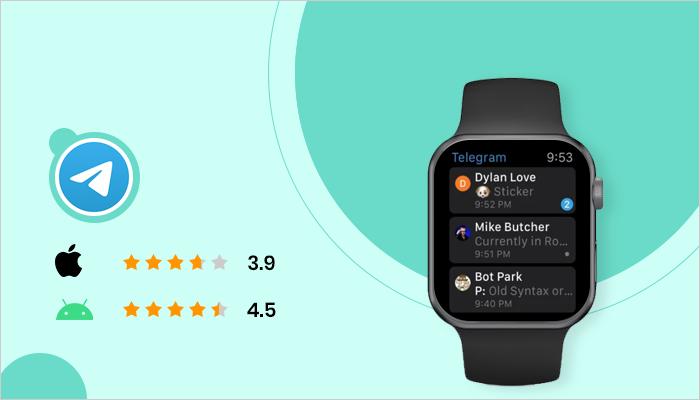 Telegram - Best App For Smartwatch