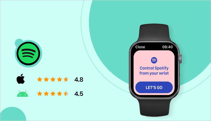 Spotify - Best App For Smartwatch