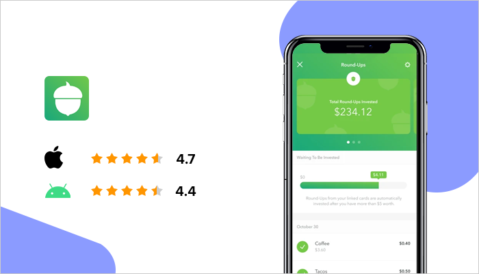 Acorns - Best Money Making Apps