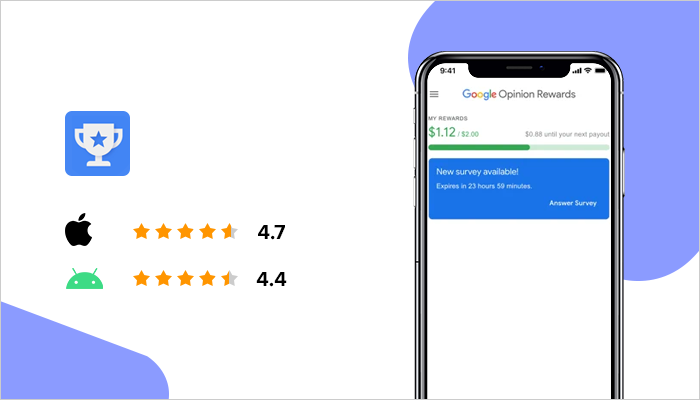 Google Opinion Rewards - Best Money Making Apps