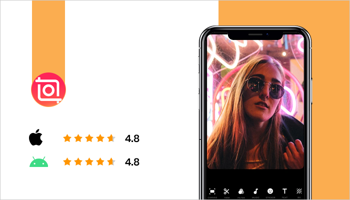Inshot - Best Apps For Instagram Stories