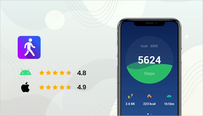 Step Counter - best healthy living apps