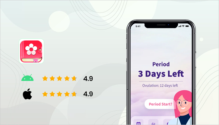 Period Tracker - best healthy living apps