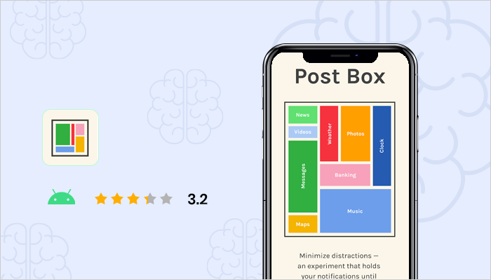 Post Box - best health and wellness apps
