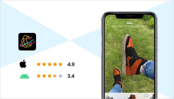 Wanna Kicks - Best Augmented Reality Apps