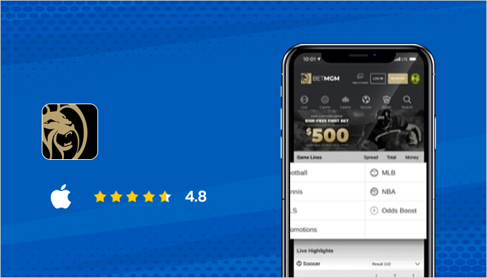 BetMGM - Top Sports Betting Apps