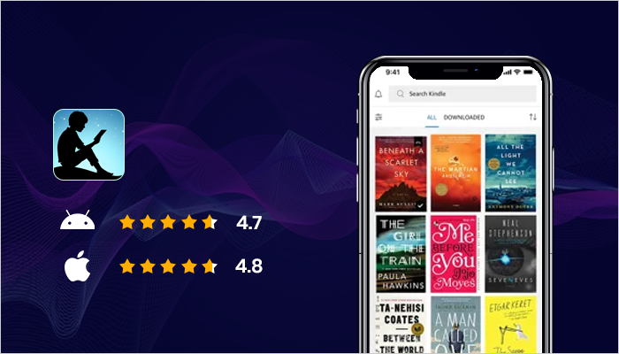 Amazon Kindle - Best Audiobook App