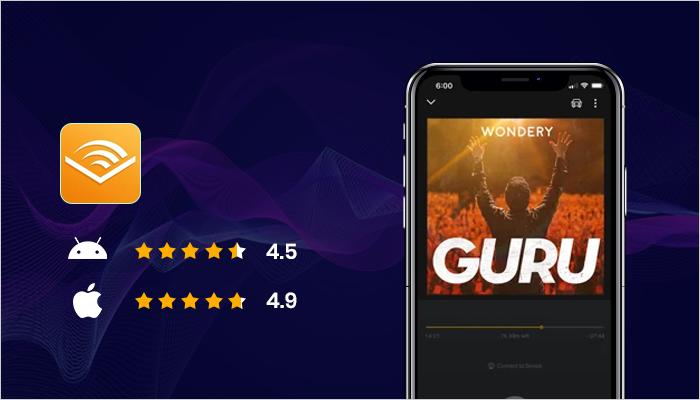 Audible - Best Audiobook App