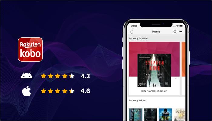 Kobo Books - Best Audiobook App