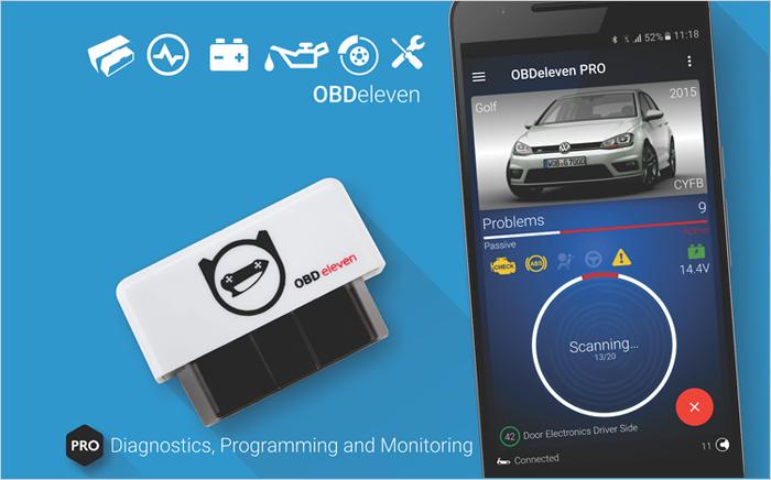 What is the OBDeleven Car Diagnostics app?