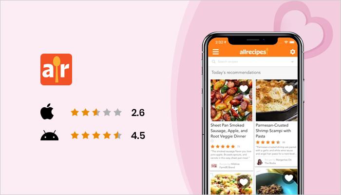 Allrecipes - Best Valentine's Day Apps