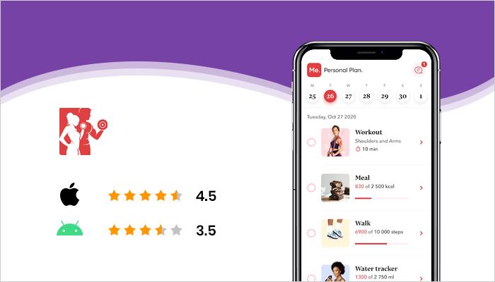 BetterMe - Best Fitness Apps