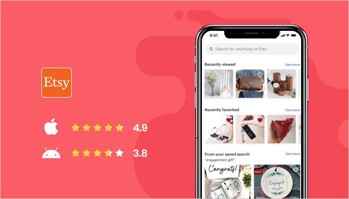 Etsy - Best Online Shopping Apps