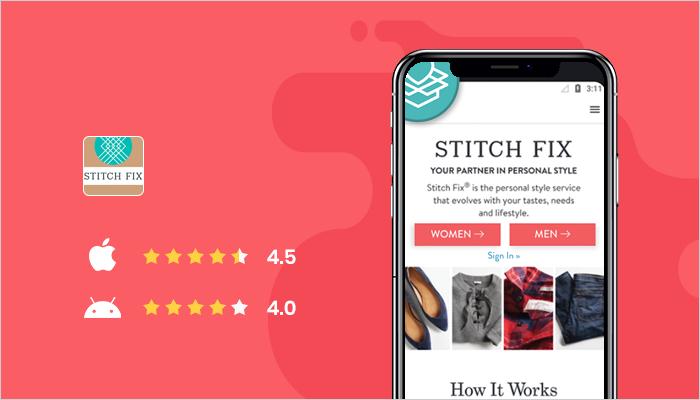 Stitch Fix - Best Online Shopping Apps
