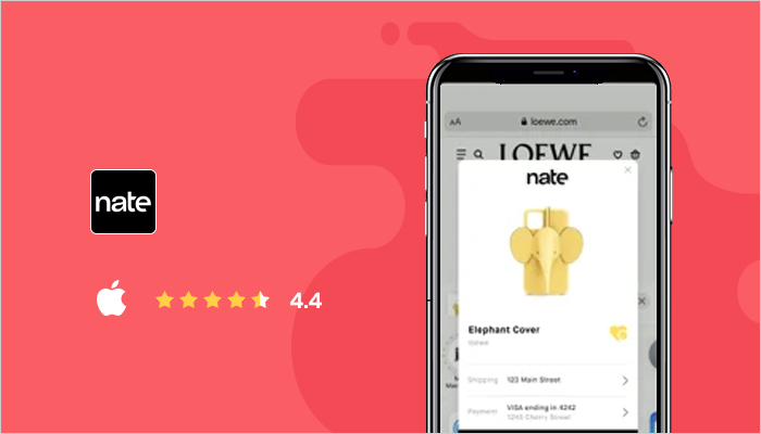 Nate - Best Online Shopping Apps
