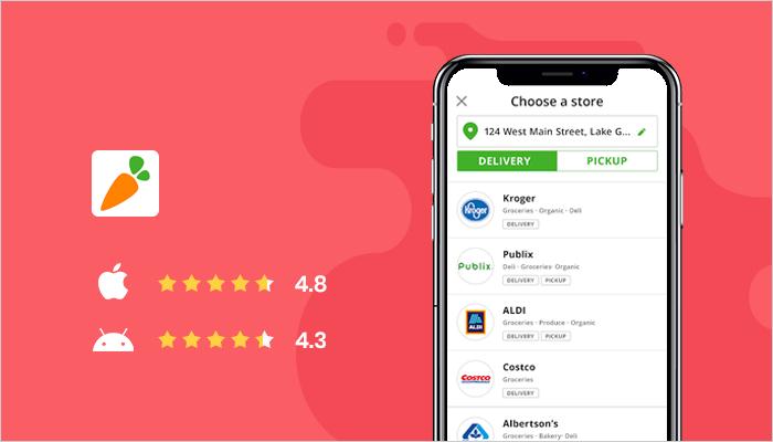 Instacart - Best Online Shopping Apps