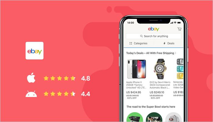 eBay - Best Online Shopping Apps