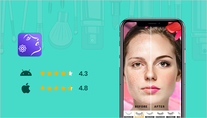 Perfect 365 - Best Makeup Apps
