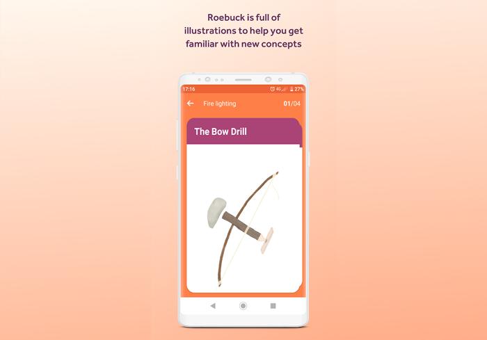 Roebuck educational app