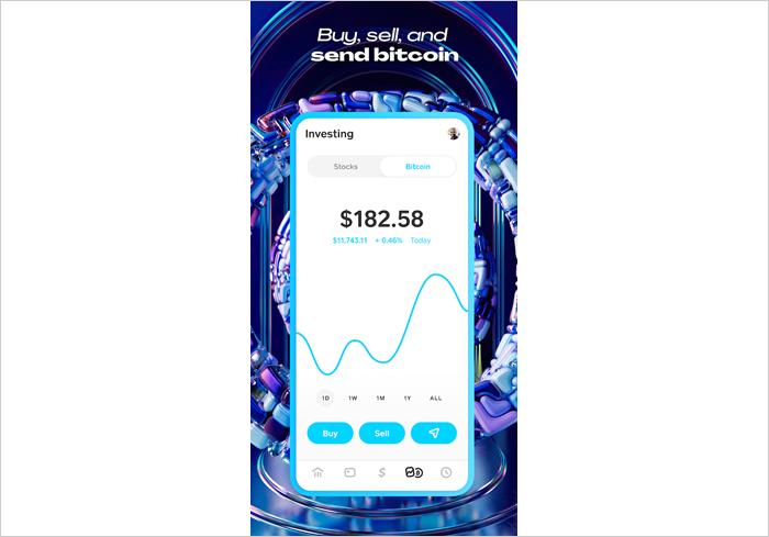 Cash App Bitcoin wallet