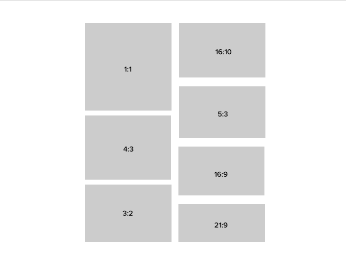 aspect ratios and modes of smart folds