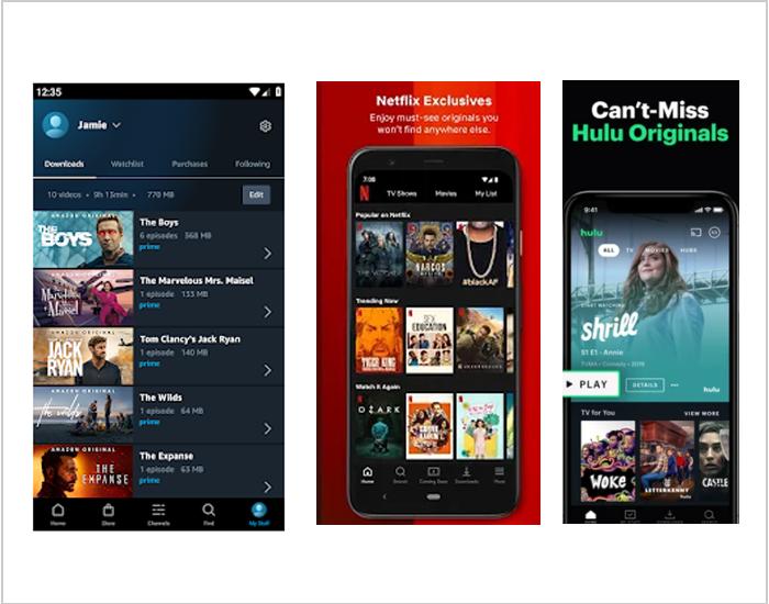 Netflix vs Hulu vs Amazon Prime