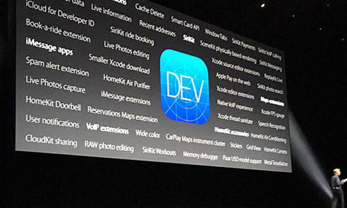 Machine learning in wwdc