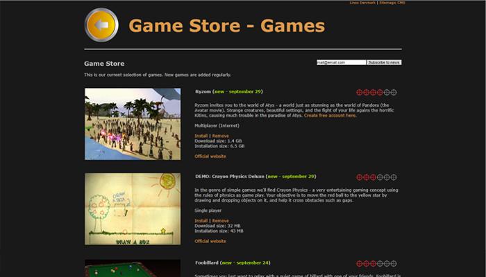 Game Drift Linux