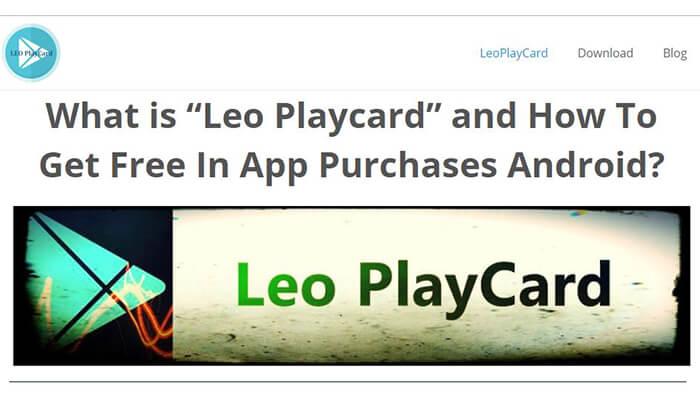 leo playcard hack app