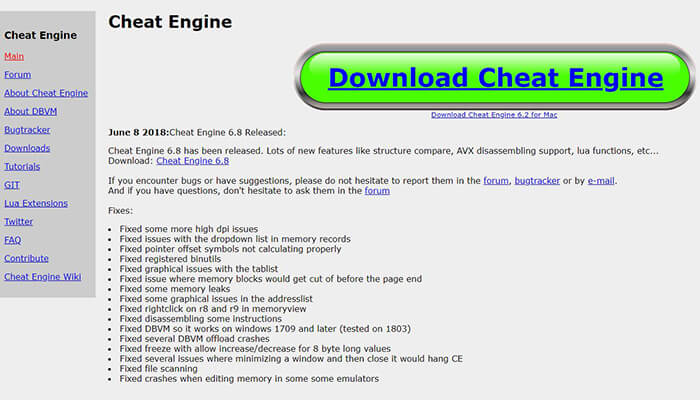 cheat engine hack app