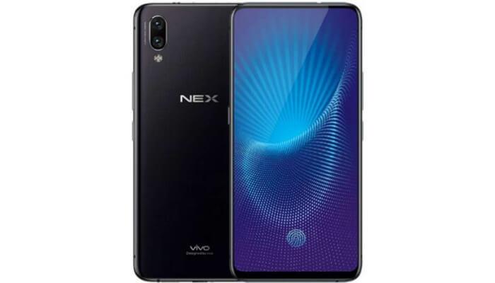 Design of Vivo Nex A