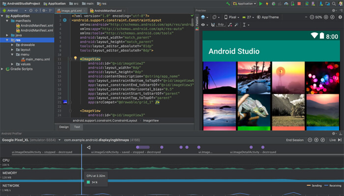 android google emulator