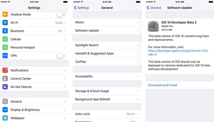Install The iOS 12 Public Beta On Your Device
