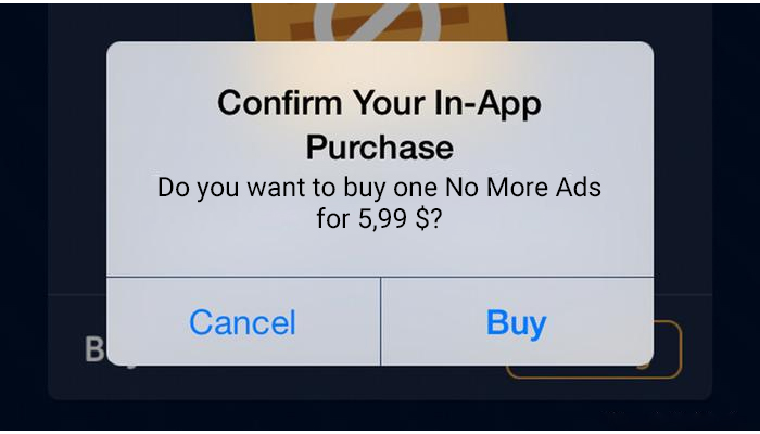 In- App Purchase