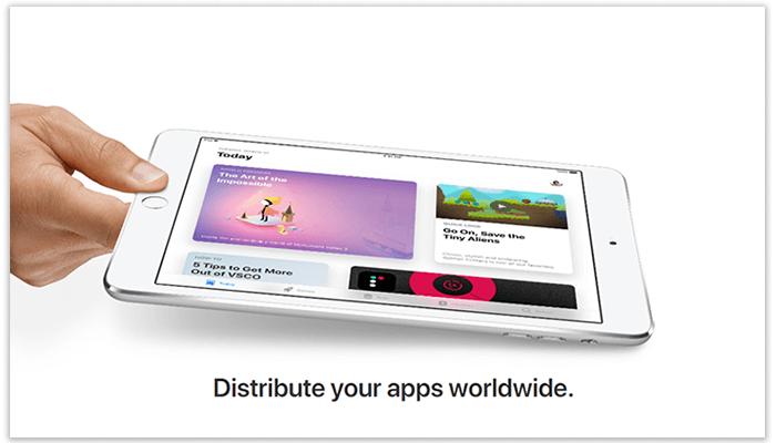 Distribute the app