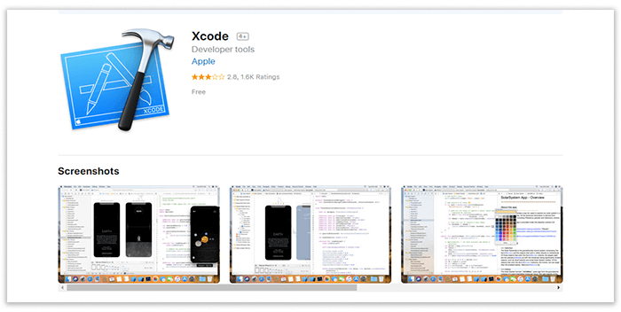 Download the Xcode