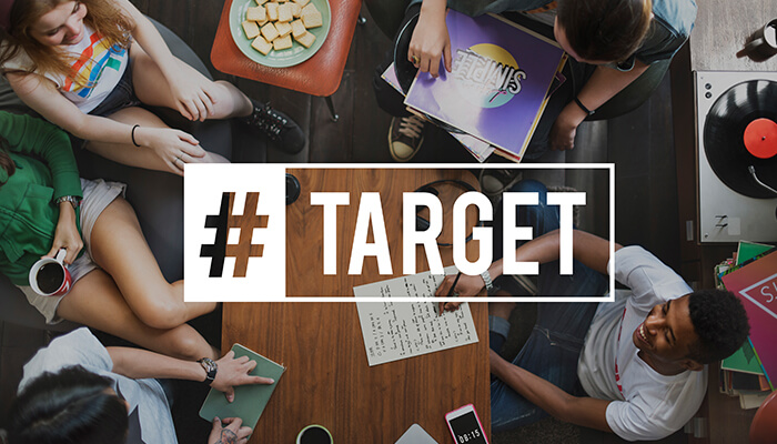 target in content distribution