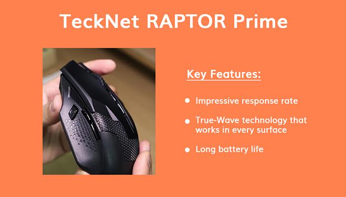 TeckNet RAPTOR Prime